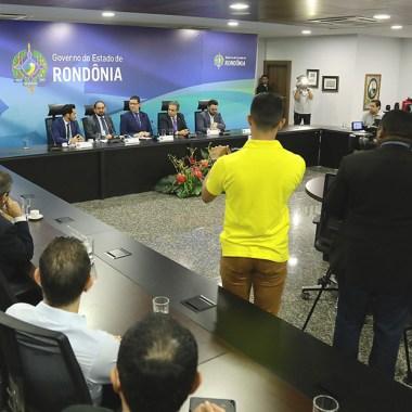 Governador garante celeridade na construção do Heuro com R$ 50 milhões já garantidos pelo TCE-RO