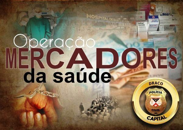 Operação da Polícia Civil em Rondônia investiga cobrança por cirurgias realizadas pelo SUS
