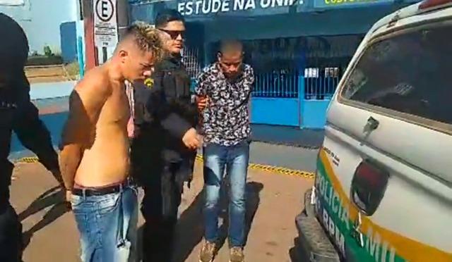 Criminosos roubam joalheria, invadem Escola e são presos na capital