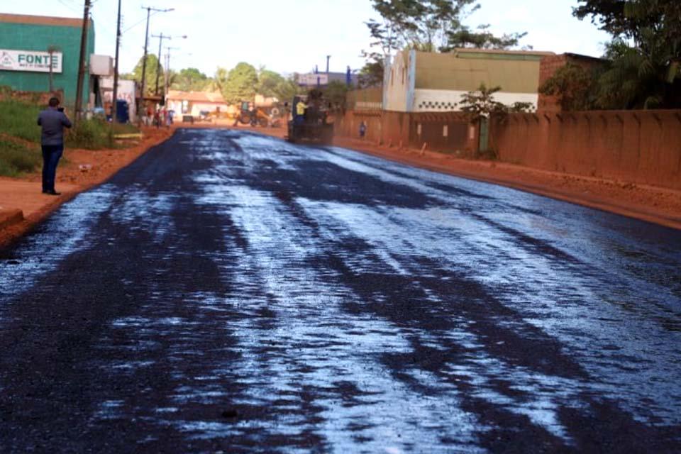 Prefeitura de Porto Velho consegue liberação de emenda de R$ 32 mi para recapear 61,784 km de ruas