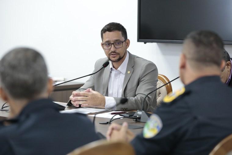 Anderson pede reforço no policiamento rural da capital