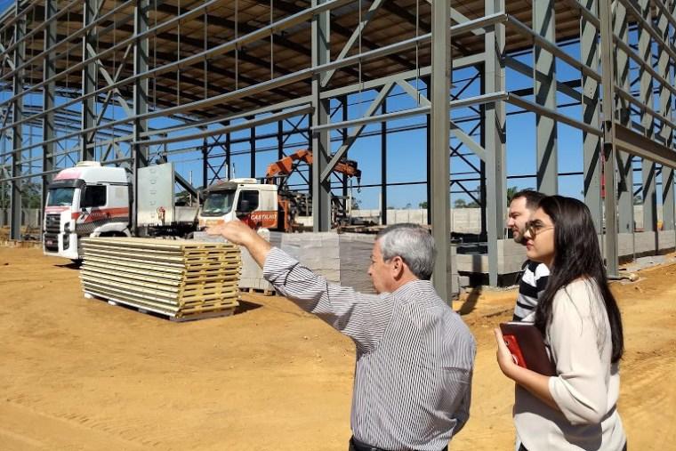 Deputado Alex Redano visita obras da White Solder Metalurgia e Mineração