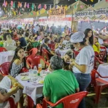Preços acessíveis fazem público lotar Arraial Flor do Maracujá em Porto Velho