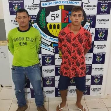 Dupla é presa com crack na garupa de mototáxi em Candeias