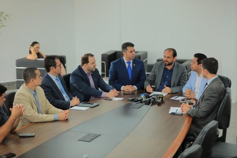 Senador e diretores da Aneel conhecem atuação da CPI da Energisa e pontuam ações coordenadas durante encontro na ALE