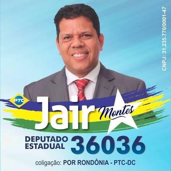 TSE nega recurso do Dep. Jair Montes em agravo e mantém prestação de contas reprovadas