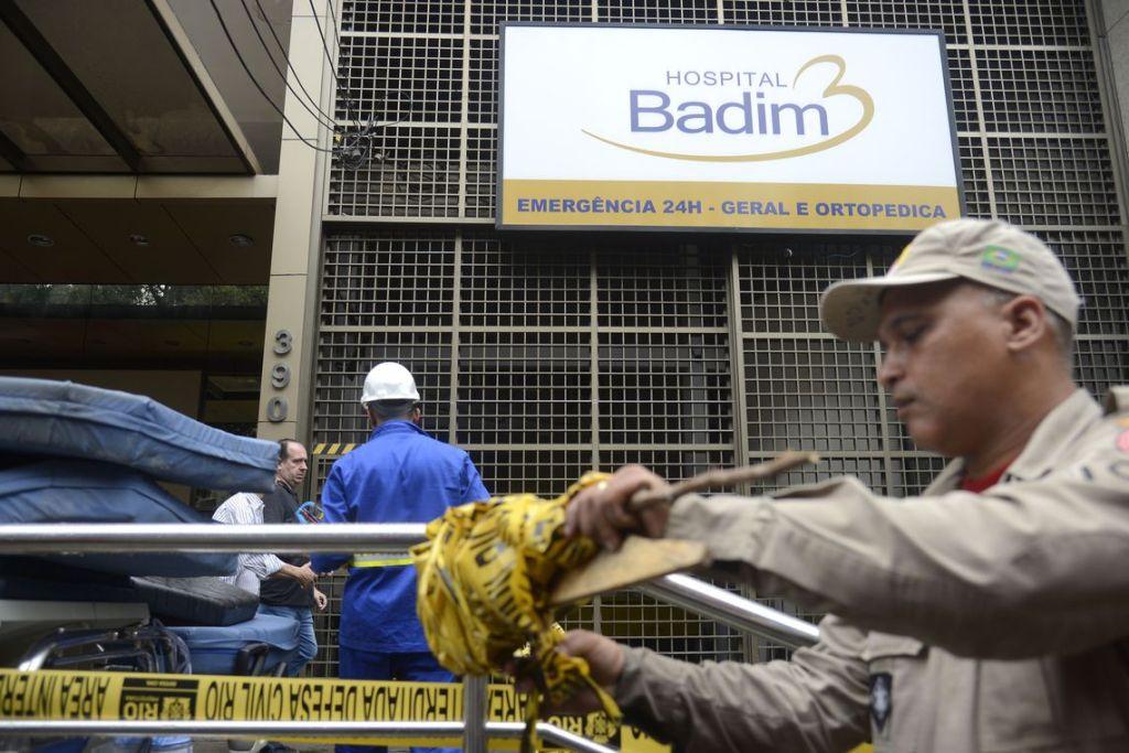 Morre 22ª vítima de incêndio no Hospital Badim, no Rio