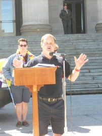 MLA Jim Rondeau, the first openly gay man elected to the Manitoba Legislative Assembly in 1999. Photo by Rachel Swatek