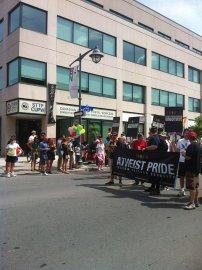 Atheist Pride. Photo by Brianna Harris
