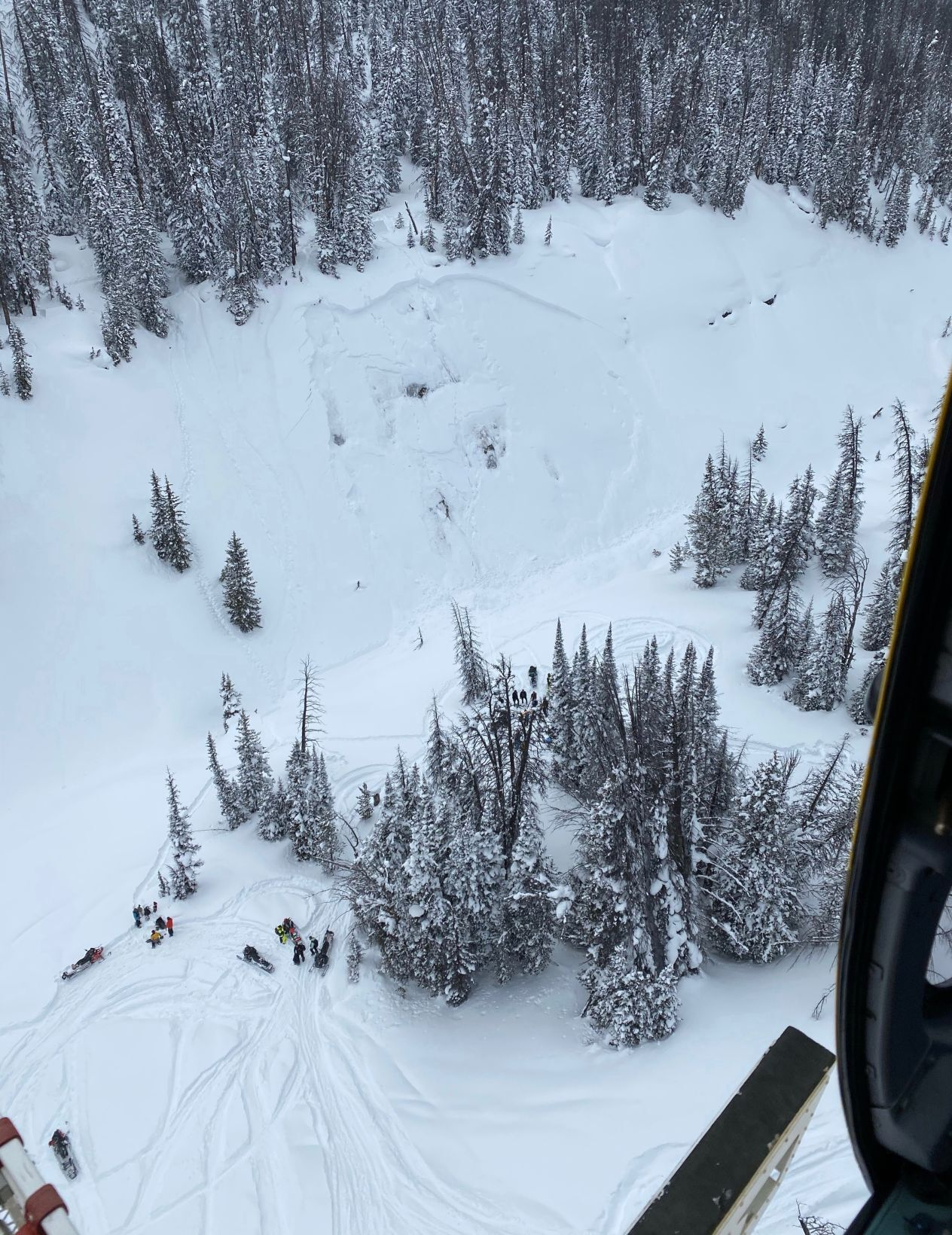 Mike McKelvey Avalanche - Togwotee Pass - Jackson, Wyoming - Teton County Search and Rescue