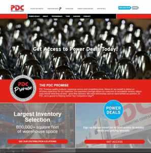 e-pdc website snapshot
