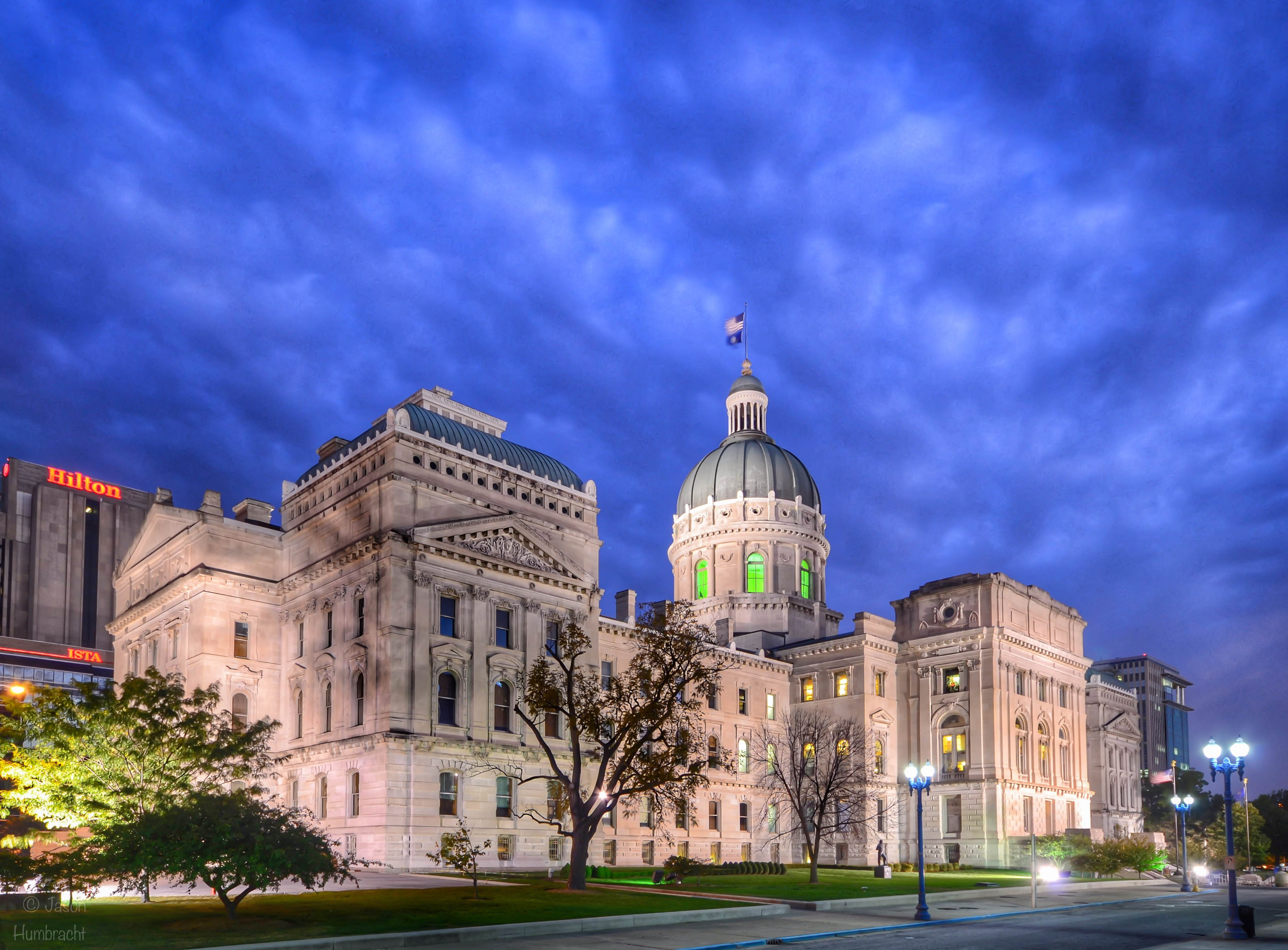 Images From The Indiana State Capital