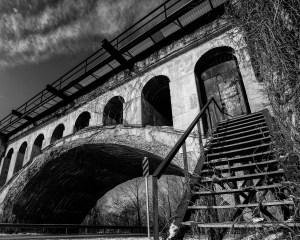 Haunted Bridge Avon Indiana | Image By Indiana Architectural Photographer Jason Humbracht