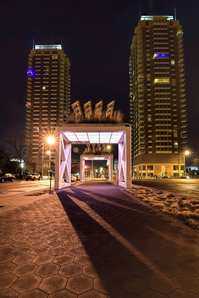 Indianapolis at night | Indy Architecture | Indiana Architectural Photography
