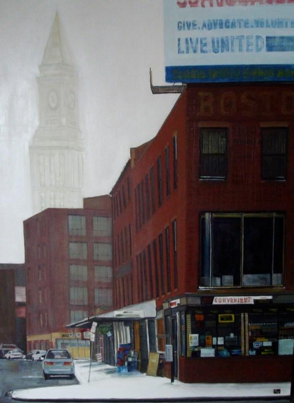 Convenient 48 X 36 Oil on Canvas