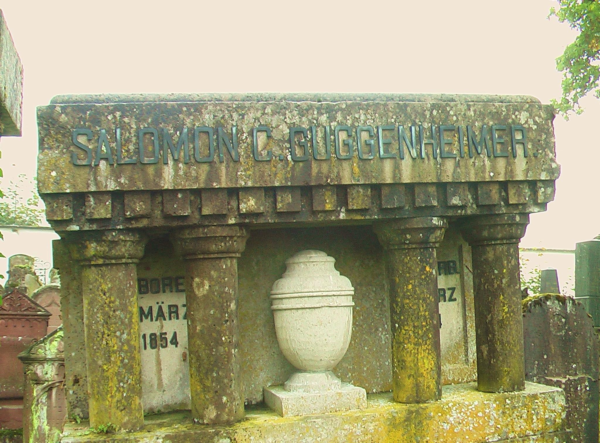 Monument Salomon Guggenheimer (1854 - 1924)
