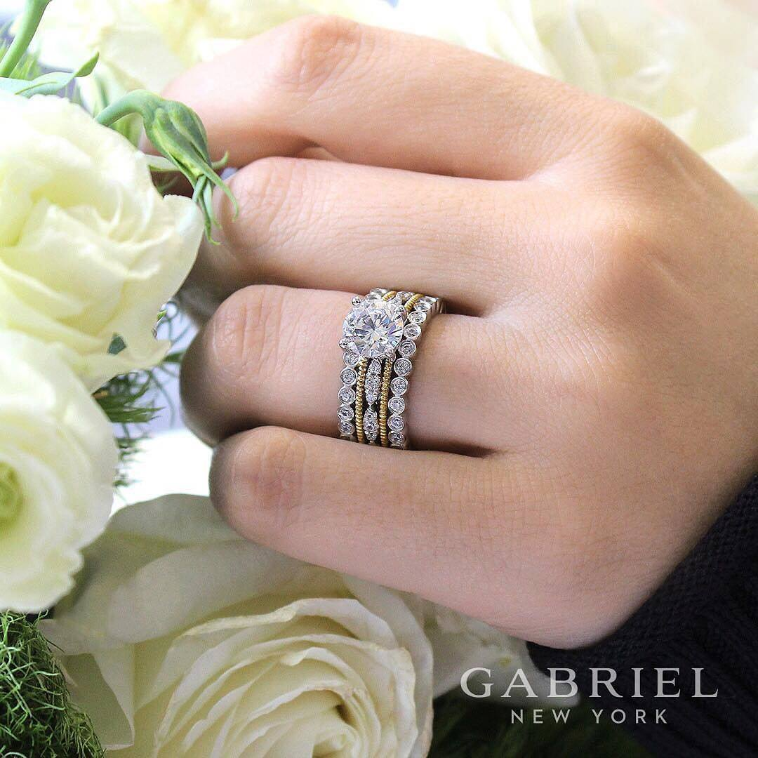 Gabriel New York stackable ring