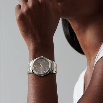 womens watch on the wrist