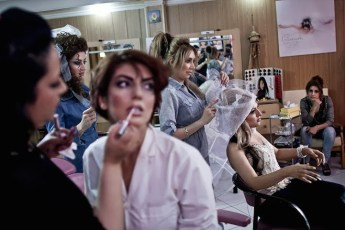 A salon only for women, where men are not allowed to enter or work.