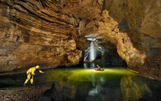 Exploring The Gouffre Berger (cave) in the Vercors region of France. At just over 1000m deep, The Gouffre Berger is recognised as one of the best sport trips in the world