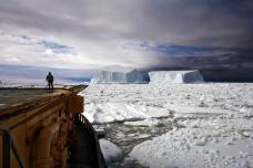 Looking at the Icebergs Near Franklin Island, Ross Sea, Antarctica, December 21, 2006
