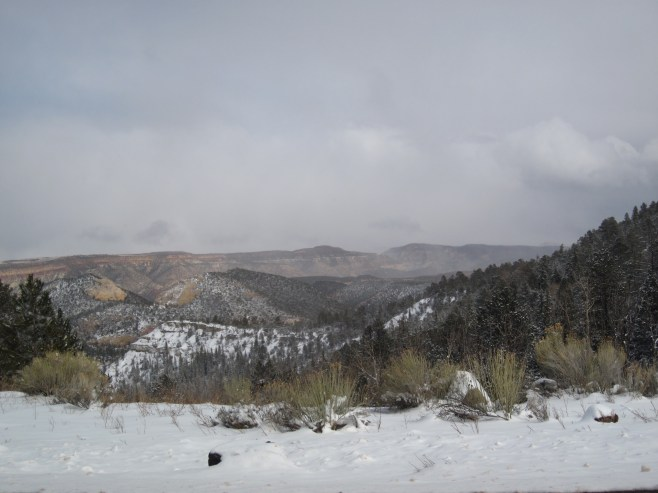 View from Highway 12