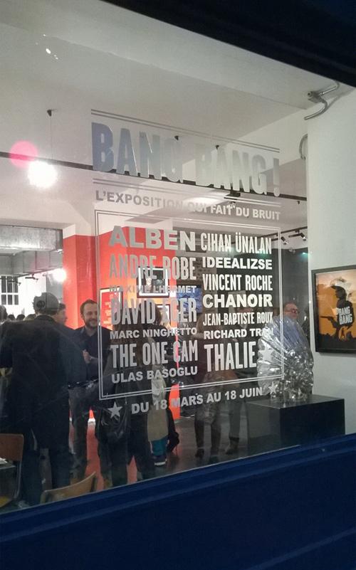 Galerie Sakura, rue du Bourg Tibourg, Paris 4e !