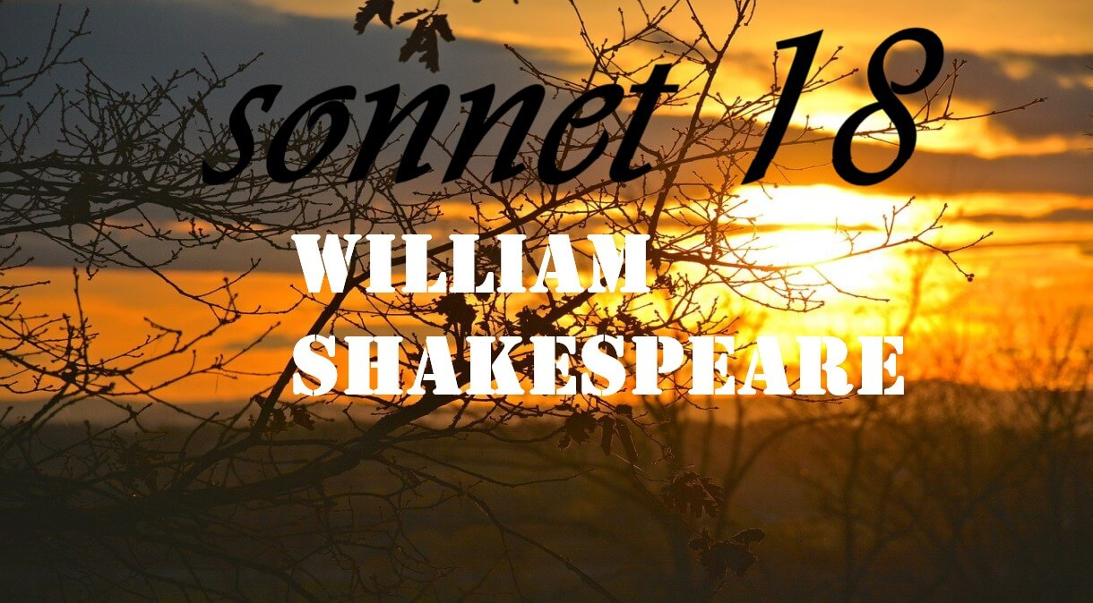 sonnet 18, shall i compare thee to a summer's day, shakespeare sonnet 18, shall i compare thee to a summer's day meaning, sonnet 18 meaning,