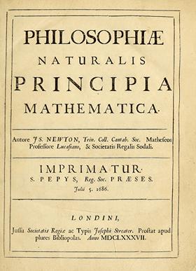 নিউটনের জীবনী Mathematical Principle Of Natural Philosophy