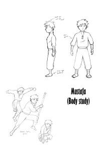 Mustafa body propotions