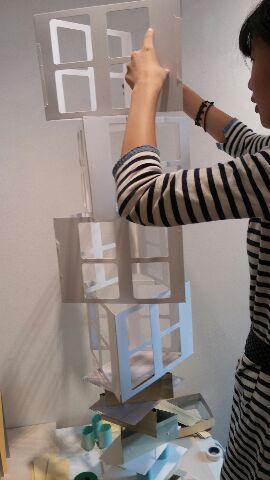 紙タワー・マンション