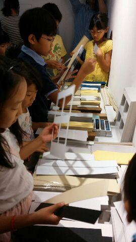 紙タワー・材料