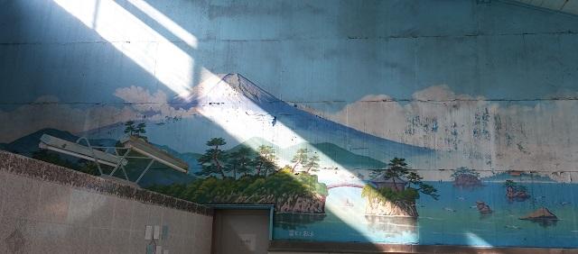 菊水湯富士山絵