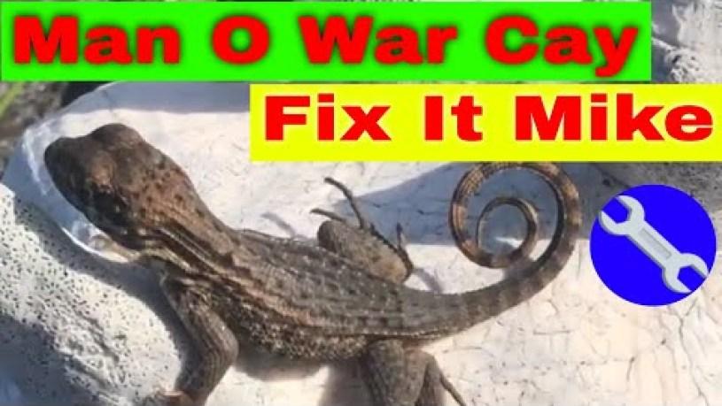 How Big Is Man O War Cay