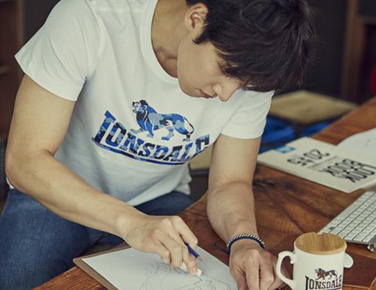CF Ji Chang Wook Turns Designer For Lonsdale Ji Chang