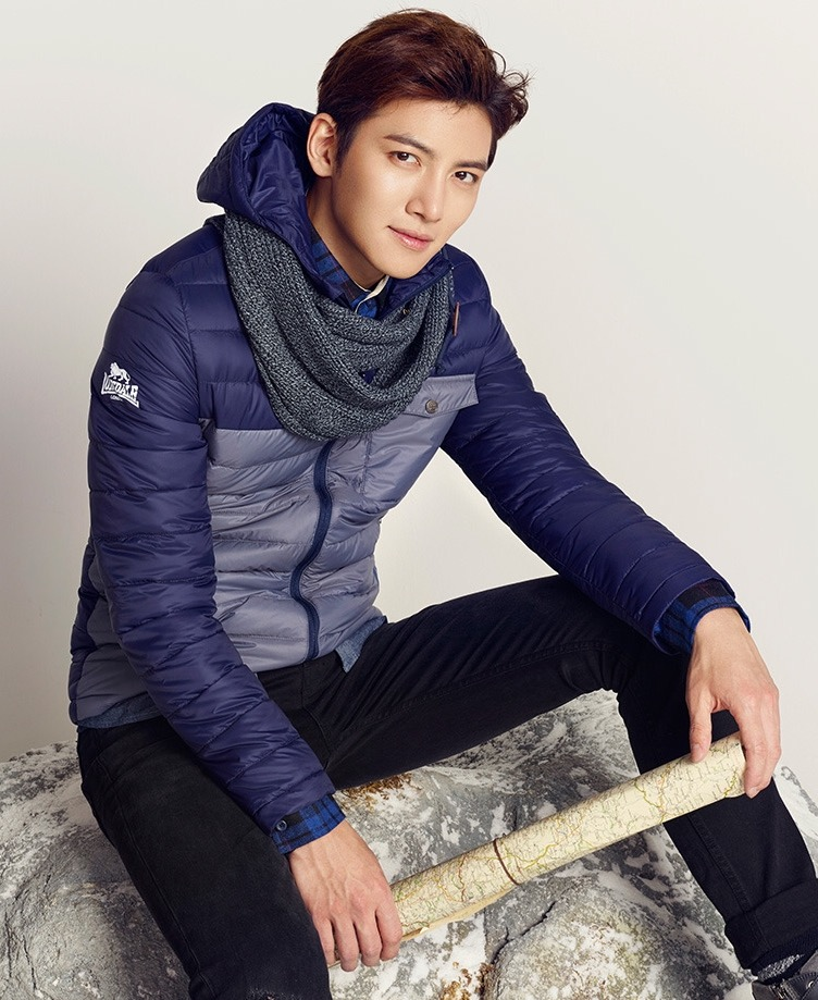 CF Ji Chang Wook Lonsdale Autumn Collection Pictures