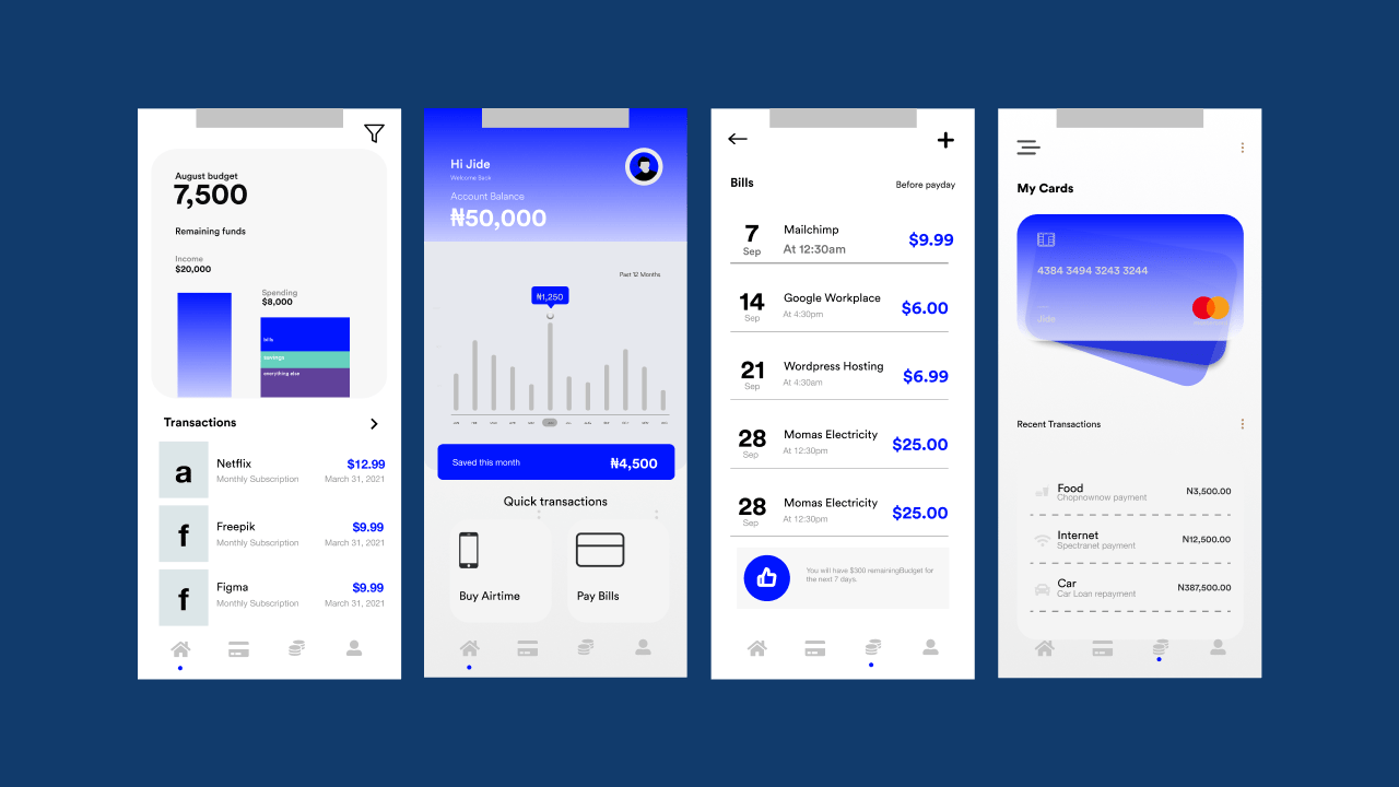 Brand Messaging and UX design for Personal Finance brand, Defy