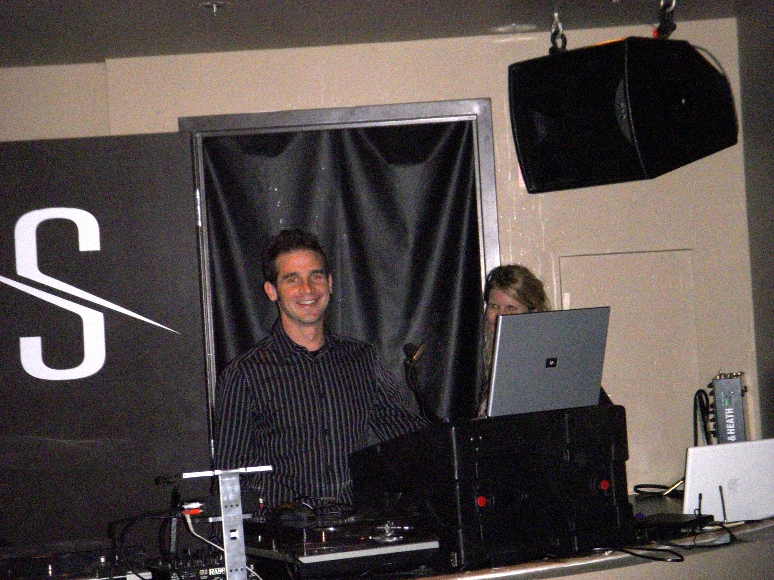 Master DJ, Tim Altbaum kept the house hoppin' way past closing time