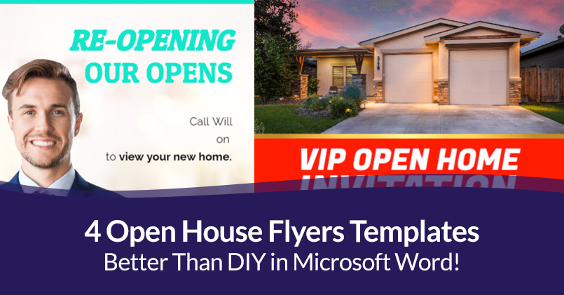 (2) a plastic or paper diagram that you can put on your keyboard to indicate the meani. 4 Open House Flyers Templates That Are Better Than Doing It Yourself In Microsoft Word Jigglar Com