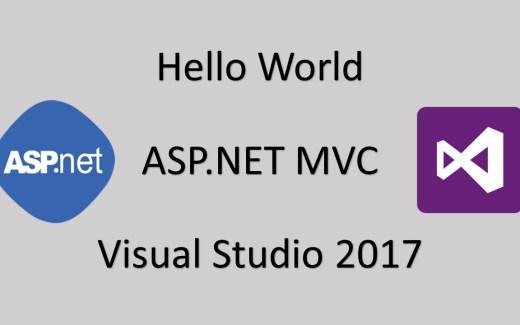 Hello World Using ASP NET MVC Sample Program