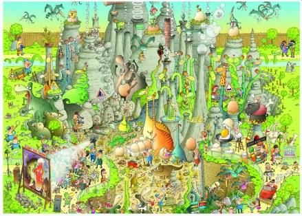 marino-degano-jurassic-habitat-jigsaw-puzzle-1000-pieces