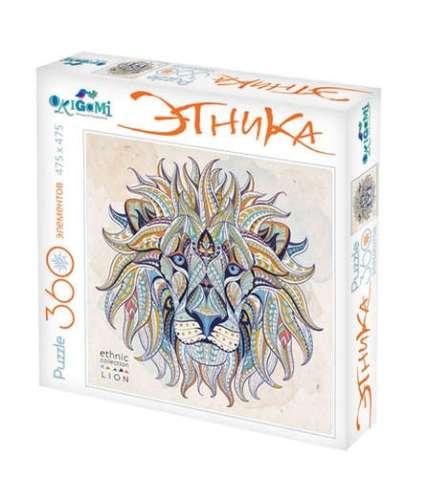origami ethnic lion