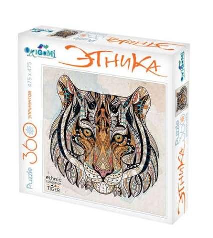 origami ethnic tiger