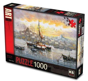 11471-ks-games-1000-parca-bogazda-gun-batimi-rasim-yildiz-puzzle-11