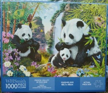 steve read wh-smith panda valley 1000