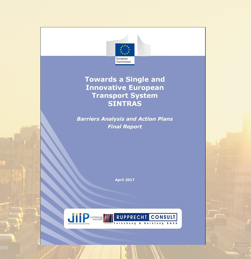 SINTRAS study published by the European Commission