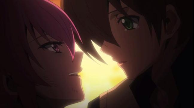 Tatsumi and Mine Kiss Episode 21 Akame ga Kill Impressions