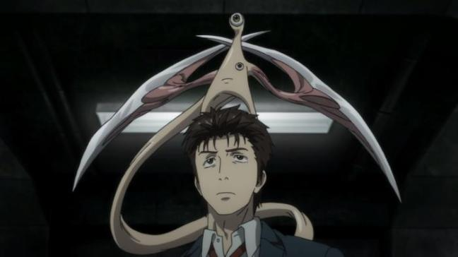 Kiseijuu Anime Ep 15 Review Shinichi Mounted