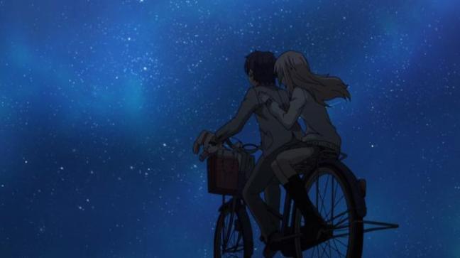 Kaori and Kousei Under the Stars