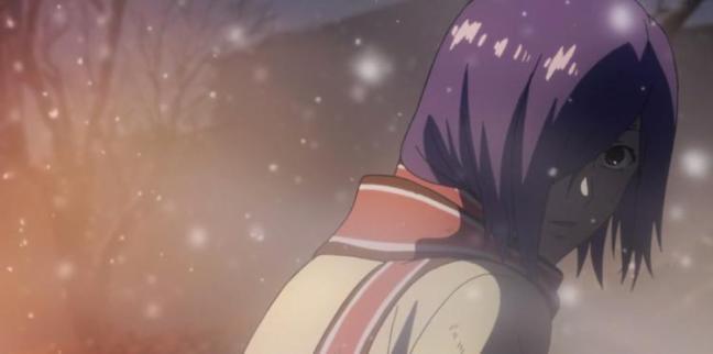 Ayato saving Touka